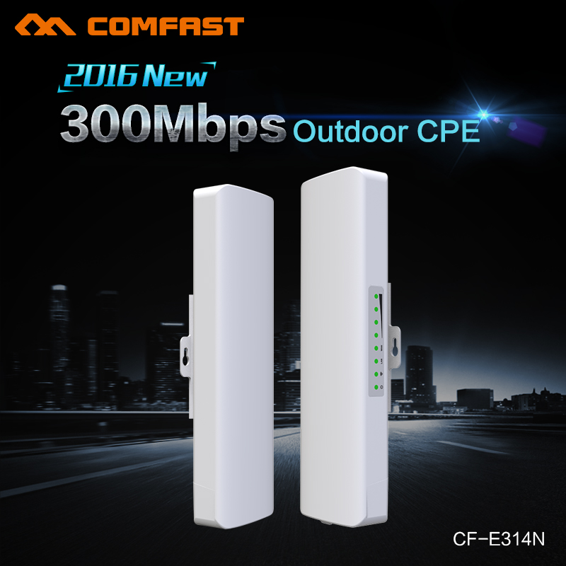 COMFAST Wireless Outdoor CPE poe wi-fi access point 300M 500mW Antenna wi fi router Amplifier repetidor wifi receiver OpenWRT(China (Mainland))