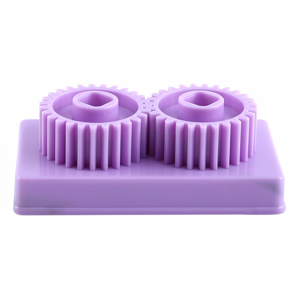 Purple Plastic Paper Quilling Crimper Machine Crimping paper Craft Quilled DIY Art Tool Papercraft DIY Scrapbooking Stamping
