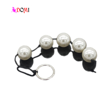 3cm Big Ball Non-toxic Waterproof 5-Ball Anal Beads, Butt Plug, Anal Sex Toys Adult Games Products