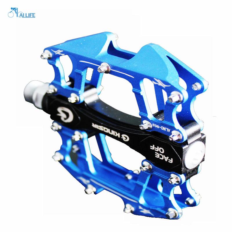 Pedals Cycling Sealed Bearing Road Mountain Bike Flat Aluminum Alloy Treadle High Quality pedal bicicleta(China (Mainland))