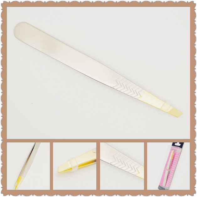 120pcs 2015 New style Factory Direct Selling cosmetic use makeup tools stainless steel eyebrow tweezers for wholesales<br><br>Aliexpress
