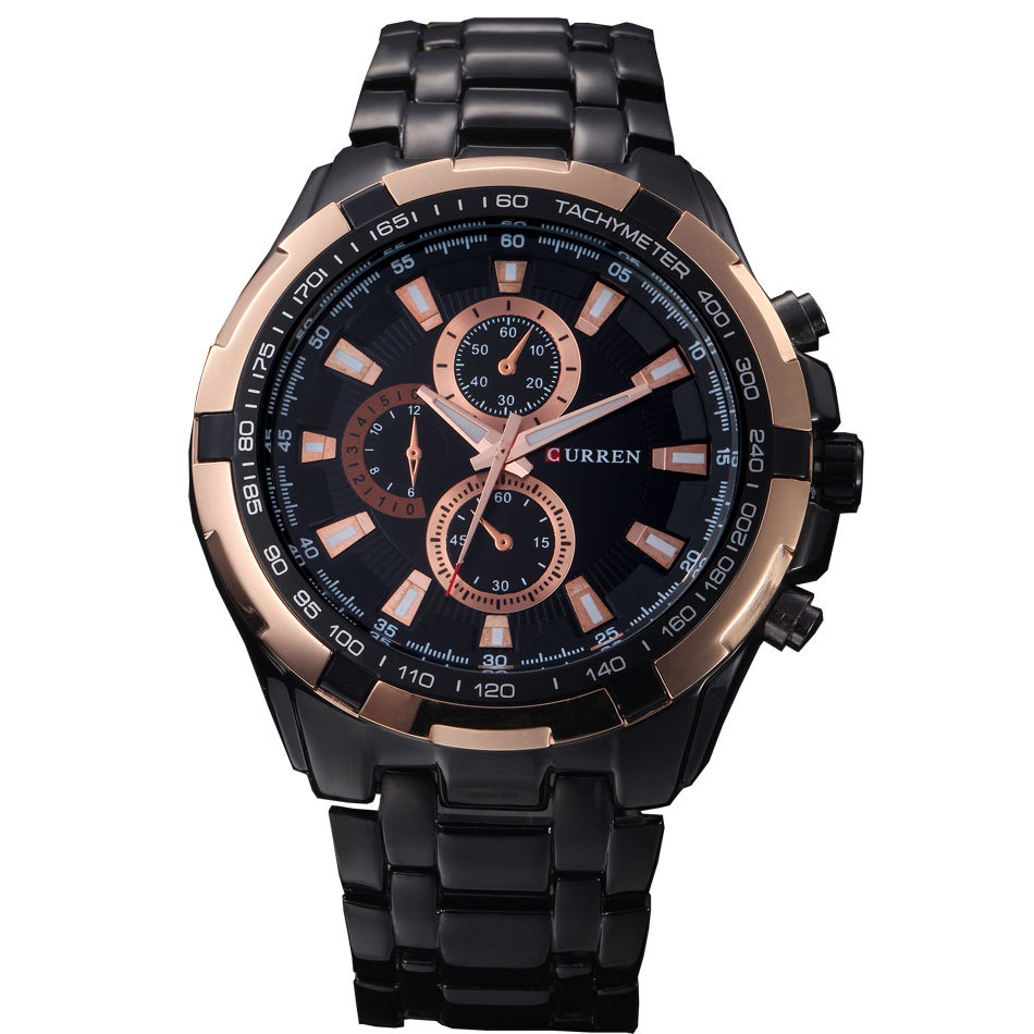 curren top brand s watches fashion casual
