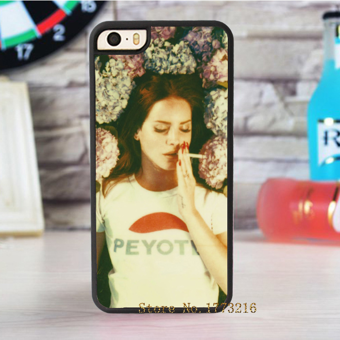 lana del rey Ultraviolence fashion case for iphone 4 4s 5 5s SE 5c for 6 & 6 plus 6S & 6S plus
