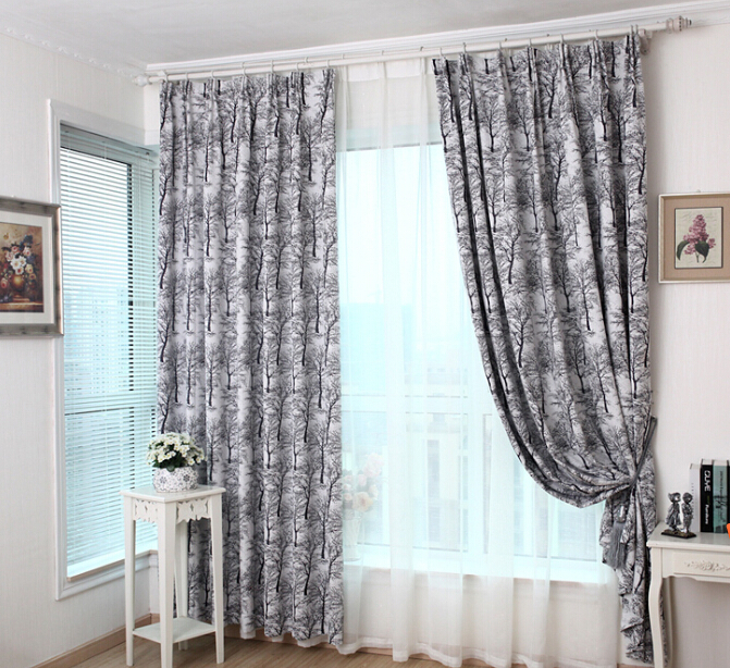Http Www Aliexpress Com Item New Arrival Cool Fashion Curtains For Living Room Curtain For Window Polyester Home Decor Tree Shade 32244430080 Html