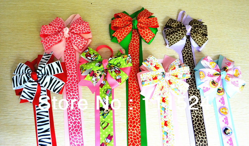 Free Shipping 30pcs/lot  7 nice colors hair bow holder bady girl headband  whole sale price  Hair Accessories