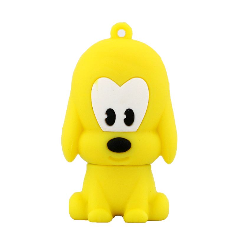 Cute yellow pug dog Pendrive USB Flash Drive 4GB 8GB 16GB 32GB 64GB Pen Drives Stick 2.0 Dropping - NO.1 Deals Trade Co.,Ltd. store
