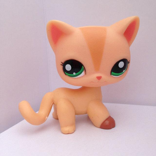 Pet Shop Кукла Животных Рисунок Игрушка Ребенка Гриль Мальчик Короткие Волосы Кошка DWA277