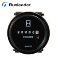 2pcs Runleader DC 6 80V hour meter For FORKLIFT chainsaw tractor machine marine motocross Generator