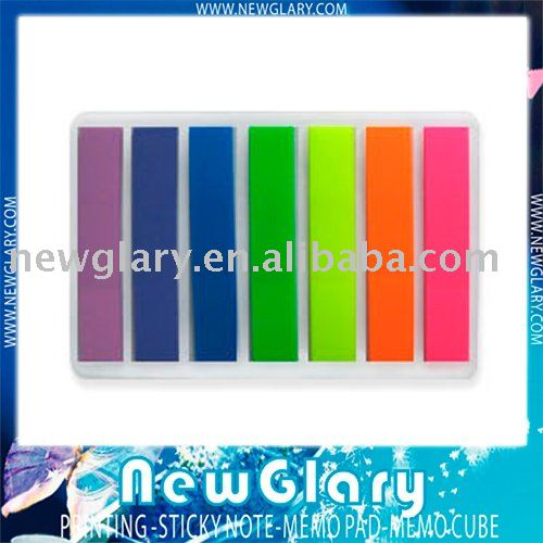 Free shipping sticky note pad 7 color index<br><br>Aliexpress