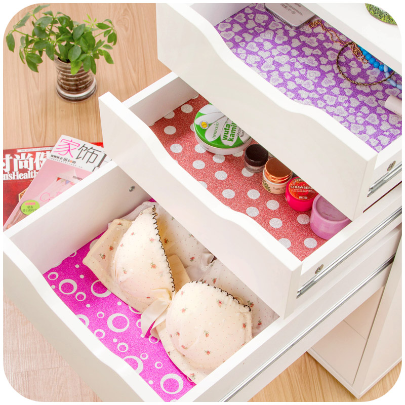 45*200cm PVC Home Bedroom Kitchen Cabinet Drawer Self-Adhesive Type Cutting Pad Mat Bling Powder Decoration Glass Wall Stickers - Focal On store