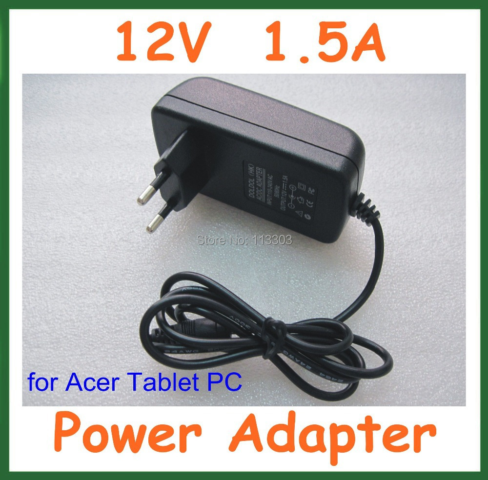 12V 1.5A Tablet Battery Charger Acer Iconia Tab W3 W3-810 A100 A101 A200 A210 A211 A500 A501 Lenovo MIIX 10 MIIX2 - Doldol (HK store Co., Ltd)