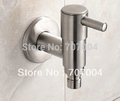 Free Shipping Laundry Washing Machine Faucet Stainless Steel Mop Pool Bibcocks Tap Cock Crane