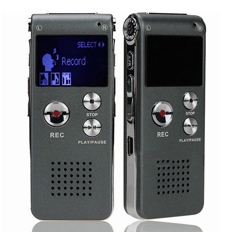 Puscard Mini usb Digital music Media player 8GB Audio Voice Recorder Rechargeable Dictaphone Telephone MP3 music Player box(China (Mainland))