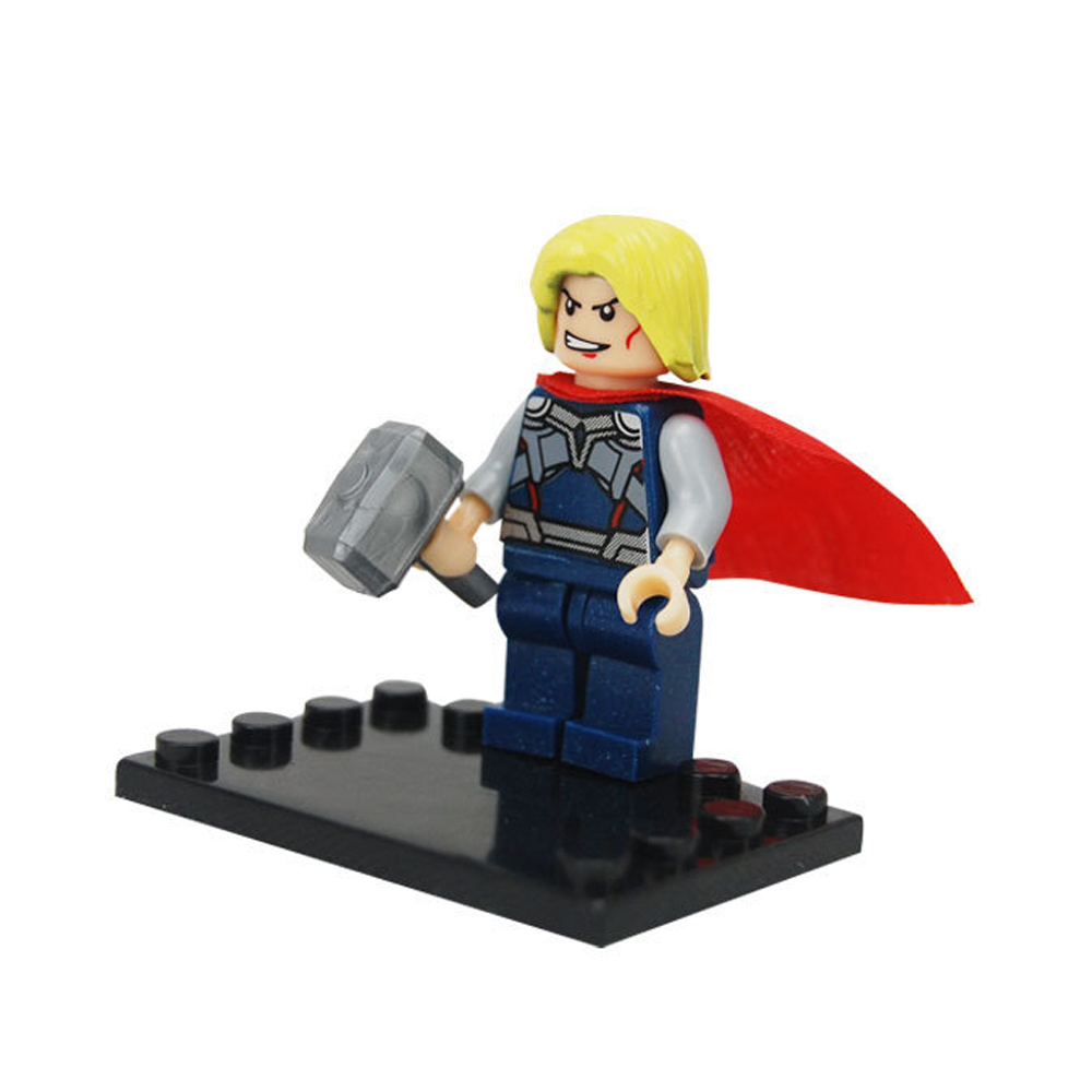 8pcs/lot film Tremendous Hero Avenger Child Child Toy Mini Determine Constructing Blocks Units Mannequin Toys Minifigures Brick