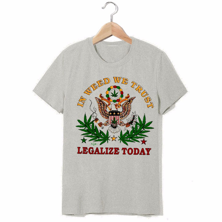 420 legalize today jah rasta bless Bob Marley vintage fashion breathable  printing t shirts - us590