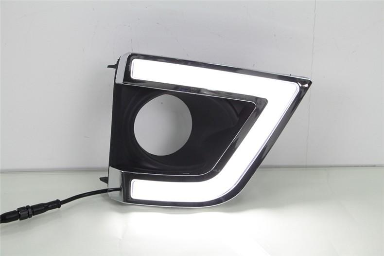 A&T car styling For Toyota Corolla LED DRL For Corollar led fog lamps daytime running light High brightness guide LED DRL