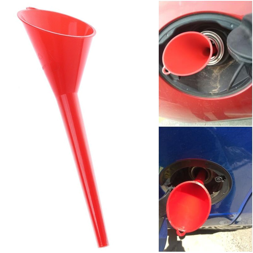 Plastic Oil Engine Funnel Gasoline Universal Motorcycle Farm Car Additive Funnel