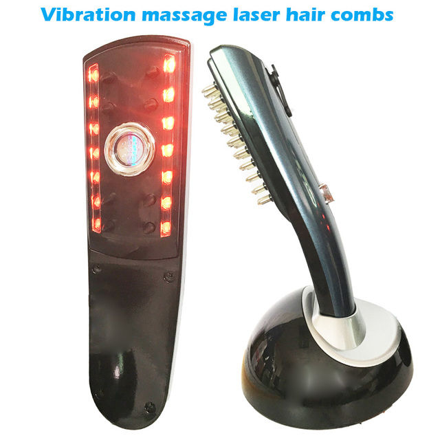 Hair Comb For Hair Care Treatment Hairmax Laser hair growth laser comb massager brush comb Head Relax Massage