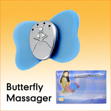 Hot Selling Fashion Lose Weight Body Muscle Massage Cheap Mini Slimming Butterfly Massager Free Drop Shipping
