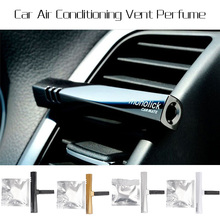 Original Colorful Perfume Air Freshener Fragrance Luxury Car Air Conditioning Vent Clip Freshener #71190(China (Mainland))