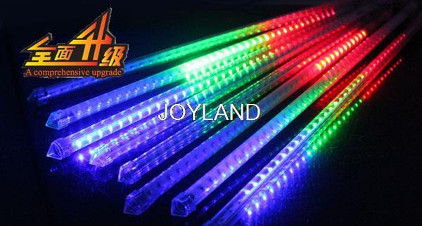 Free shipping 10pcs 72LED SMD5050 DC 12V Meteor Tube 50cm Two-sided Meteor Shower Light for Holiday Decoration<br><br>Aliexpress