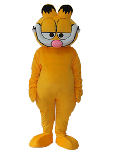 Hot selling!New funny style Garfield cat Cartoon Fancy Dress Suit Outfit Animal Mascot Costume - Sam's World store