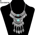 LOVBEAFAS 2017 Fashion Bohemian Choker Maxi Necklace For Women Jewelry Collares Necklace Vintage Statement Collier Necklace
