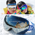 20 colors designer ski goggles motocross anti fog cross country skiing glasses men women snowmobile snow
