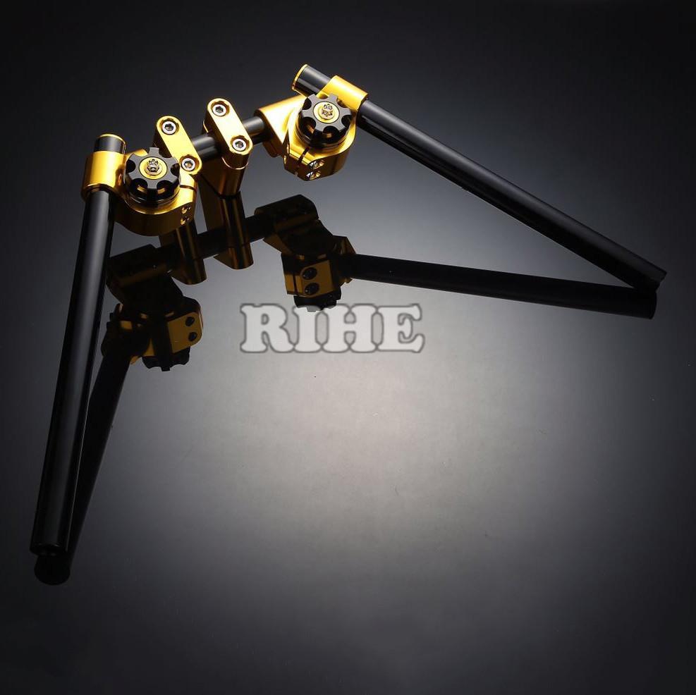 Motorcycle Adjustable Steering Handle Bar handlebar grip clip ons set for benelli bn300 bn600 Yahama smax155 bws125 bwsr pcx(China (Mainland))