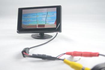 3.5 inch TFT LCD Car Monitor Car Reverse Backup Camera Car Monitor free shipping