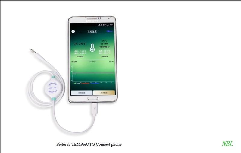 Thermoco-Smart Thermomètre /& Enregistreur