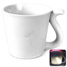 Cat Style Ceramic Material Water / Coffee / Beverage Mug – 270ml