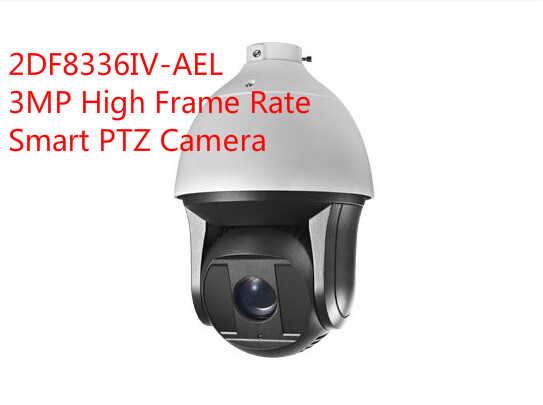 free shipping english version DS-2DF8336IV-AEL 3MP High Frame Rate Smart PTZ Camera 36X Optical Zoom speed dome camera(China (Mainland))