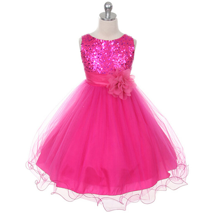 Dresses kids christmas princess wedding party dress girls new year s