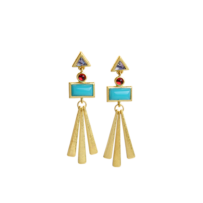 2016 Free Shipping Vintage Chandelier Earring Dangle Earring Party Earring pierced earring Good Quality (Min $20 can mix)(China (Mainland))