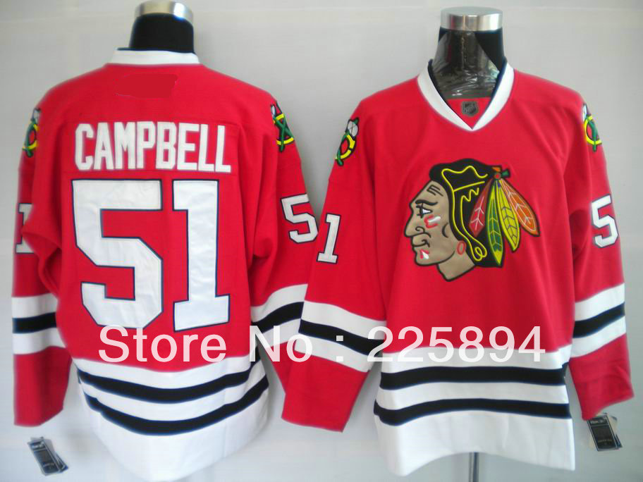 jerseys with 2013 stanley cup patch hot mens hockey chicago blackhawks 51 brian