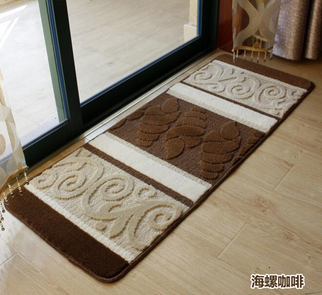 Washable Hall Rugs: Factory Non Slip Door Mat Entrance Washable Hotel Lobby