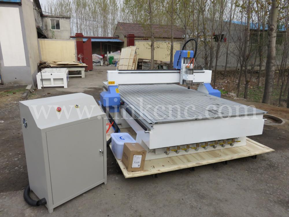 LINK series 3 kw Model 1530 Vacuum table china cnc router machine(China (Mainland))