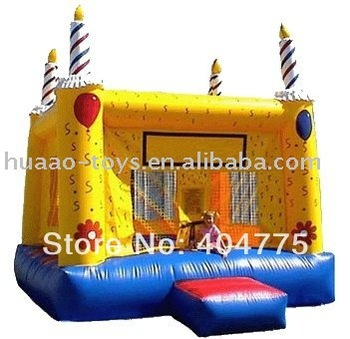 Giant Inflatable airball cake Jumper