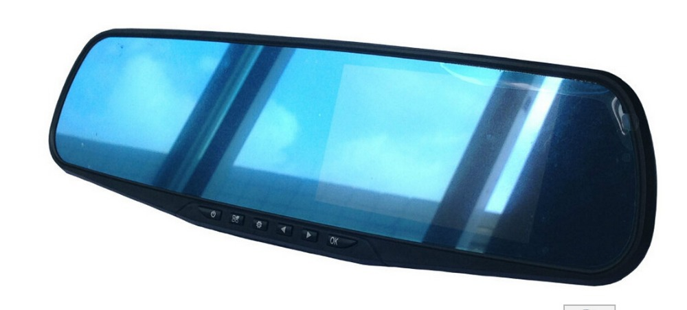 4.3'' full HD 1080P anti-glare rear view mirror DVR recorder(China (Mainland))