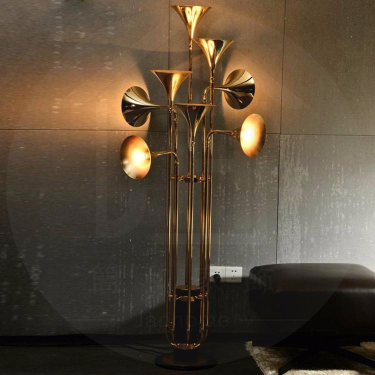 Купить IndividualThe Nordic industrial постмодернистское искусство творческая личность дизайнер выставки гостиная торшер отель кафе-бар