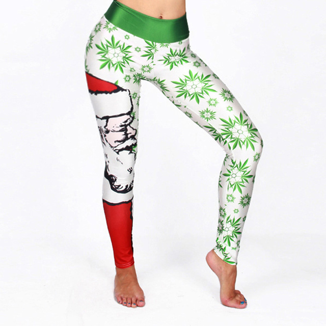 3D Print Christmas Leggings
