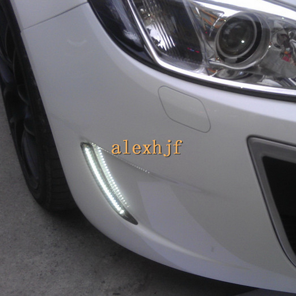 led daytime running light drl turn signal light for buick regal gs opel insignia ebay. Black Bedroom Furniture Sets. Home Design Ideas
