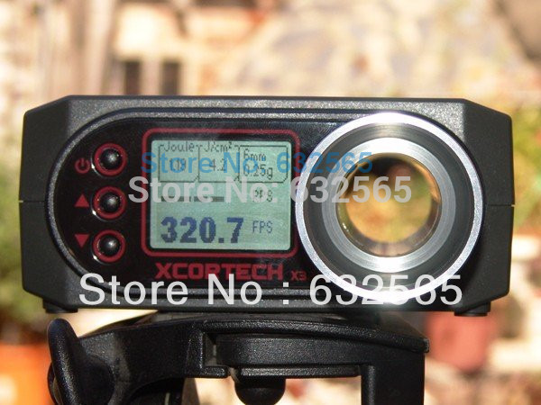 Promotion! X3200 Xcortech High-Power Airsoft BB Shooting Chronograph Speed Tester(China (Mainland))