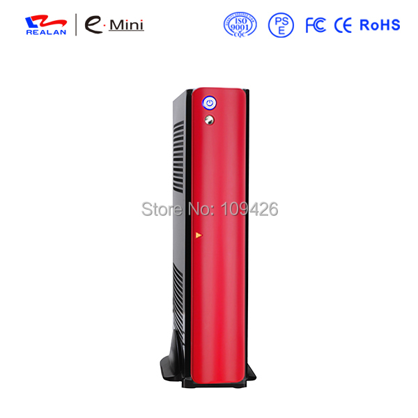 Realan UV Black Mini ITX Micro ATX Bulk Desktop Computer SECC OEM PC Case E 2010B(China (Mainland))