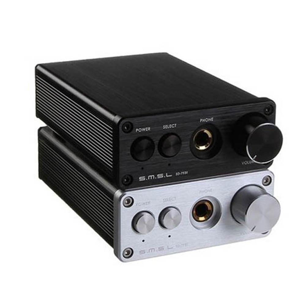 SMSL SD-793II DIR9001 PCM1793 OPA2134 DAC output dac Headphone Amp aluminum enclosure Toslink Coaxial(China (Mainland))