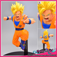Buy Original Banpresto SCultures Dragon Ball Z/Kai BIG 6 Vol.4 Action Figure Son Gokou -Super Saiyan 2 Ver. for $18.56 in AliExpress store