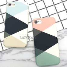 Buy Colorful Fashion Geometric Graphic Pattern Case iphone 7 New Abstract Triangle phone cases iphone 7 6 6S PLUS Back Cover for $2.26 in AliExpress store
