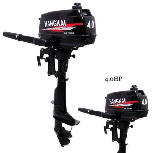 2014 New Design Best Quality 2 Stroke 4hp Hangkai Outboard