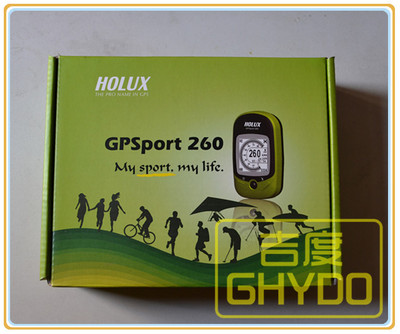 Holux GPSport 260 GR260 Outdoor Bike Race MINI GPS Receiver loggger GPS Compass for outdoor Sports/ riding bicycle(China (Mainland))